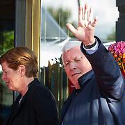 NLD/Amsterdam/20150926 - Afsluiting viering 200 jaar Koninkrijk der Nederlanden, Joop Daalmeier en partner Maartje van Weegen