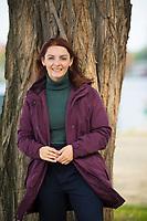 Berlin, 23.09.2021: Portrait von Ana-Maria Trasnea, SPD-Bundestagskandidatin im Wahlkreis Treptow-Köpenick.