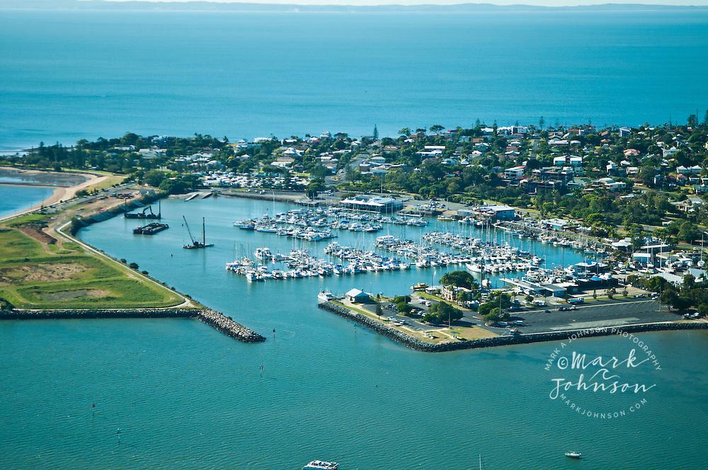 Aerial photo of Scarborough, Redcliffe Peninsula, Brisbane, Queensland, Australia
