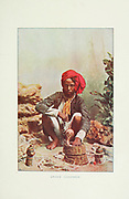 Indian Snake Charmer Typical Pictures of Indian Natives Being reproduction from Specially prepared hand-colored photographs. By F. M. Coleman (Times of India) Seventh Edition Bombay 1902