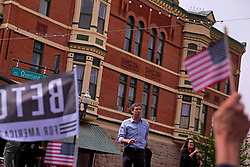 March 30, 2019 - El Paso, Texas, US - March 30, 2019- El Paso, Texas- Beto O'Rourke kicks off his presidential campaign before a hometown crowd in El Paso, Texas. It was his first trip back to the city since he announced he was running for the Democratic nomination for President sixteen days ago. (Credit Image: © Christopher Brown/ZUMA Wire)