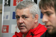 The Wales rugby team press conference and team training on 18/11/2008 ahead of their autumn international against New Zealand.  Wales head coach Warren Gatland. pic by Andrew Orchard ©  Andrew Orchard sports photography.