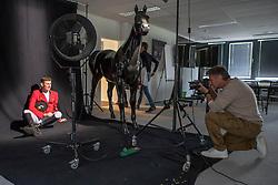 Henk van Cauwenbergh, Jos Verlooy<br /> Foto shoot met Henk van Cauwenbergh voor KBRSF - Zaventem 2018<br /> © Hippo Foto - Dirk Caremans<br /> 01/05/2018