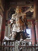 Japan, Honshu, Nara, Todai-Ji Temple Bronze Statue