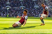 Football - 2021 / 2022 Premier League - Tottenham Hotspur vs Aston Villa - Tottenham Hotspur Stadium - Sunday 3rd October 2021<br /> <br /> Ollie Watkins (Aston Villa) and Danny Ings (Aston Villa) celebrate after Aston Villa equalise<br /> <br /> COLORSPORT/DANIEL BEARHAM