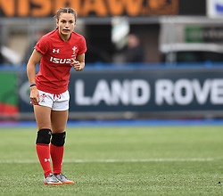 Wales Jasmine Joyce<br /> Wales Women v South Africa Women<br /> Autumn International<br /> <br /> Photographer Mike Jones / Replay Images<br /> Cardiff Arms Park<br /> 10th November 2018<br /> <br /> World Copyright © 2018 Replay Images. All rights reserved. info@replayimages.co.uk - http://replayimages.co.uk
