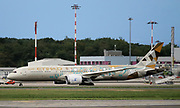 A6-BLI Etihad Airways Boeing 787-9 Dreamliner at Malpensa (MXP / LIMC), Milan, Italy