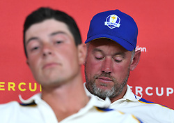 Team Europe's Lee Westwood during a press conference after defeat to Team USA at the end of day three of the 43rd Ryder Cup at Whistling Straits, Wisconsin. Picture date: Sunday September 26, 2021.