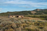 Historic Cunningham Ranch cabin Grand Teton National Park