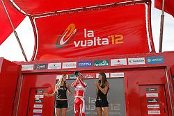 01.09.2012, 14. Etappe, Palas de Rei nach Puerto de Ancares, ESP, La Vuelta, im Bild Joaquin Purito Rodriguez celebrates the victory in // during the La Vuelta, Stage 14 Palas de Rei to Puerto de Ancare, Spain on 2012/09/01. EXPA Pictures © 2012, PhotoCredit: EXPA/ Alterphotos/ Acero..***** ATTENTION - OUT OF ESP and SUI *****