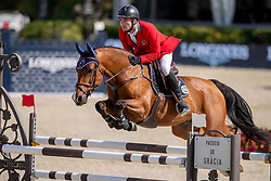 Philippaertsd Nicola, BELBalsiger Bryan, SUI, Jenkins ter Doorn<br /> Longines FEI Jumping Nations Cup™ Final<br /> Barcelona 20128<br /> © Hippo Foto - Dirk Caremans<br /> 06/10/2018