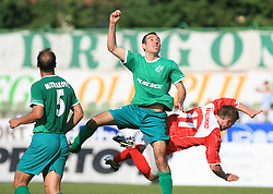 Adnan Alagic of Olimpija at final match of 2nd SNL league between NK Olimpija in NK Aluminij, on May 23, 2009, ZAK, Ljubljana, Slovenia. Aluminij won 2:1. NK Olimpija is a Champion of 2nd SNL and thus qualified to 1st Slovenian football league for season 2009/2010. (Photo by Vid Ponikvar / Sportida)