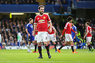 Juan Mata of Manchester United during the Barclays Premier League match between Chelsea and Manchester United at Stamford Bridge, London, England on 7 February 2016. Photo by Phil Duncan.