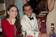 ANNA DANSHINA; ALESSANDRO GRASSINI-GRIMALDI, The 20th Russian Summer Ball, Lancaster House, Proceeds from the event will benefit The Romanov Fund for RussiaLondon. 20 June 2015