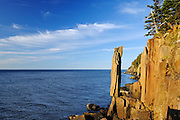Balancing Rock on the Bay of Fundy on the Digby Neck<br />Long Island on the Digby Neck<br />Nova Scotia<br />Canada