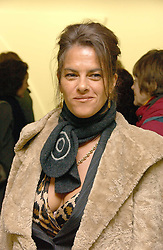 Artist TRACEY EMIN at an exhibition of leading artist Ellsworth Kelly at the Serpentine Gallery, Kensington Gardens, London followed by a dinner at the Riverside Cafe, London on 17th March 2006.<br /><br />NON EXCLUSIVE - WORLD RIGHTS