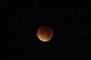 Blood-Red Supermoon Lunar Eclipse