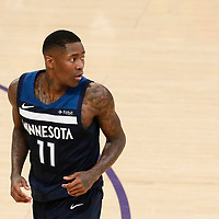 25 December 2017: Minnesota Timberwolves guard Jamal Crawford (11) is seen during the Minnesota Timberwolves 121-104 victory over the LA Lakers, at the Staples Center, Los Angeles, California, USA.