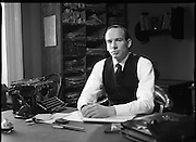 Patrick Pearse a film by Louis Marcus.    (N6)..1979..13.12.1979..12.13.1979..13th December 1979..A film on the Irish Patriot,Patrick was made by the Director, Louis Marcus.The film was to mark the centenary of Patrick Pearse's birth. The lead role was taken by renowned actor John Kavanagh.Others involved in the production were, Andy O'Mahoney, Niall Tobín,Denis Brennan and Derek Lord..A portrait of John Kavanagh in his role as Patrick Pearse.