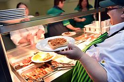 Morrisons supermarket staff canteen UK