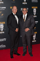 John A. Gotti and Michael Froch attending a party in Honour of John Travolta's receipt of the Inaugural Variety Cinema Icon Award during the 71st annual Cannes Film Festival at Hotel du Cap-Eden-Roc in Cap d'Antibes, France on May 15, 2018 as part of the 71st Cannes Film Festival. Photo by Nicolas Genin/ABACAPRESS.COM
