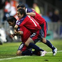 Fotball <br /> FIFA World Youth Championships 2005<br /> Nederland / Holland<br /> 11.06.2005<br /> Foto: ProShots/Digitalsport<br /> <br /> Honduras v Chile<br /> Doetinchem<br /> <br /> jara heeft 5 - 0 gescoord