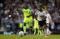LONDON, ENGLAND - MAY 14:LONDON, ENGLAND - MAY 14:Derby's Cameron Jerome chases down the ball
