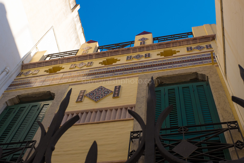 Modernist house, Carrer Nou, Sant Pol de Mar, Catalonia