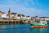 France, Vendée (85), Les Sables-d'Olonne, quartier de La Chaume // France, Vendée, Les Sables-d'Olonne, La Chaume district