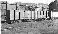 3/4 view of D&RGW high-side gondola #9365 at Salida.<br /> D&RGW  Salida, CO  Taken by Best, Gerald M.