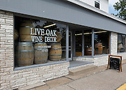 Exterior view of the Live Oak Wine Decor business located at 513 South Jefferson Street in Millstadt.