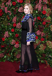 Ellie Bamber attending the Evening Standard Theatre Awards 2018 at the Theatre Royal, Drury Lane in Covent Garden, London. Restrictions: Editorial Use Only. Photo credit should read: Doug Peters/EMPICS