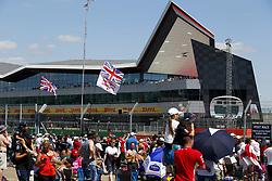 July 8, 2018 - Silverstone, Great Britain - Motorsports: FIA Formula One World Championship 2018, Grand Prix of Great Britain, ..Fans  (Credit Image: © Hoch Zwei via ZUMA Wire)