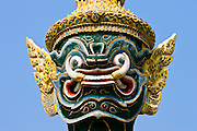 Demon Giant statue at The Grand Palace Complex, Bangkok, Thailand