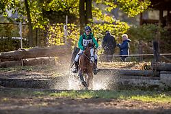 De Swaef Luna, BEL, Siska<br /> LRV Ponie cross - Zoersel 2018<br /> © Hippo Foto - Dirk Caremans<br /> 28/10/2018