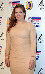 JESSICA HYNES attends the British Comedy Awards at Fountain Studios, London, England, December 12, 2012. Photo by i-Images.