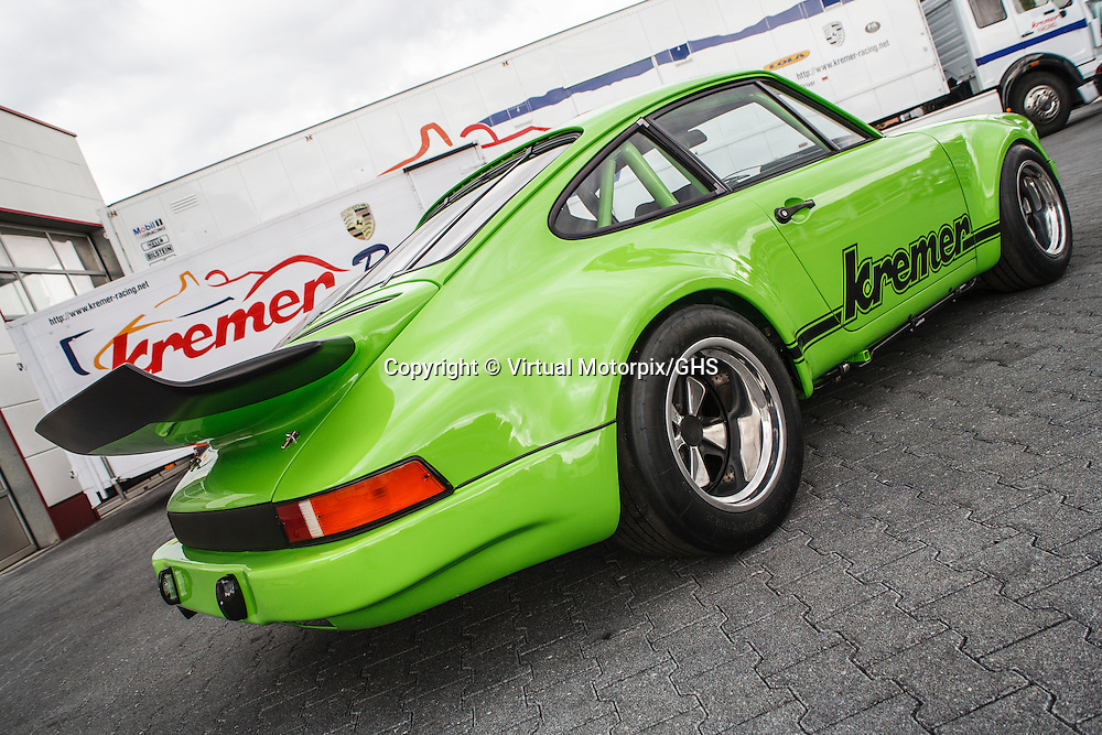 Porsche 911 RS 3.0 (2008), here photographed at Kremer Racing in August 2008
