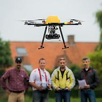 Assenede, Belgium 14 August 2015<br /> Trimble drone pilot training camp.<br /> Photo: Ezequiel Scagnetti