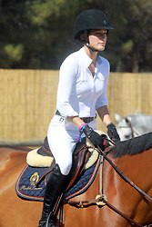 Bruce Springsteen's daughter Jessica Springsteen rides at the Longines Athina Onassis Horse Show 2017, in Saint-Tropez, France, on June 02, 2017. Photo by ABACAPRESS.COM