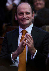 © Licensed to London News Pictures. 28/11/2016. London, UK. UKIP MP DOUGLAS CARSWELL the announcement of the new leader of the UK Independence Party (UKIP), at the Emmanuel Centre in Westminster London.. Photo credit: Ben Cawthra/LNP