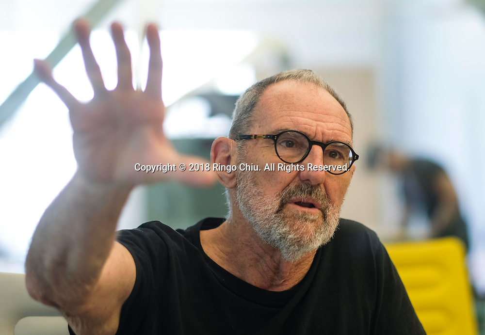 Architect Thom Mayne of Morphosis Architects.(Photo by Ringo Chiu)<br /> <br /> Usage Notes: This content is intended for editorial use only. For other uses, additional clearances may be required.