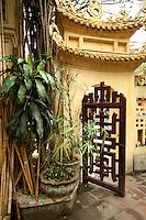 Hanoi Pagoda Doorway