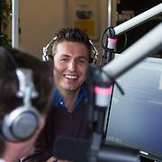 NLD/Naarden/20130415 - Aftrap Album Top 1000 2013, Erik de Zwart en Pieter van den Hoogenband