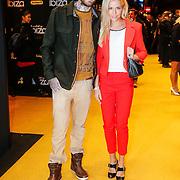 NLD/Amsterdam/20130128 - Premiere film Verliefd op Ibiza, Ben Saunders en Yvonne Coldeweijer