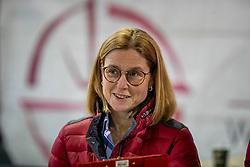 Keurinscommissie, verantwoordelijke fokkerij, Meurrens Inge<br /> BWP Hengsten Keuring - Lier 2020<br /> © Hippo Foto - Dirk Caremans<br /> 16/01/2020