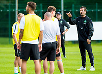 01/07/14<br /> CELTIC TRAINING<br /> AUSTRIA<br /> Celtic manager Ronny Deila gives out instructions at training