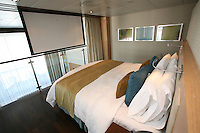 The launch of Royal Caribbean International's Oasis of the Seas, the worlds largest cruise ship..Staterooms.Royal Loft Suite