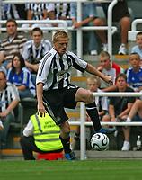 Photo: Andrew Unwin.<br />Newcastle United v PSV Eindhoven. Pre Season Friendly. 29/07/2006.<br />Newcastle's Damien Duff.