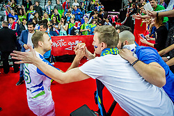 Ziga Mlakar of Slovenia after the handball match between National teams of Slovenia and Montenegro on Day 5 in Preliminary Round of Men's EHF EURO 2018, on January 17, 2018 in Arena Zagreb, Zagreb, Croatia. Photo by Ziga Zupan / Sportida