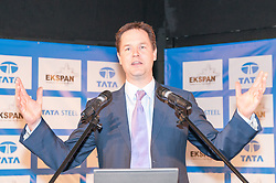 Nick Clegg MP speaking at the Global Manufacturing Festival